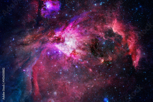 Tuinposter Heelal Nebula, stars and galaxy in deep space.