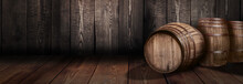 Background Of Barrel Whiskey W...
