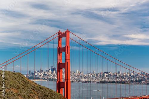 Keuken foto achterwand San Francisco Golden Gate Bridge, San Francisco, California