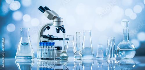 Fotografia  Science laboratory research and development concept