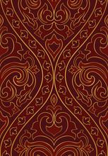 Ornamental Red Pattern.