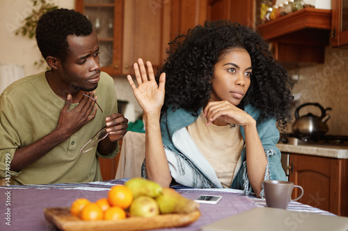 Having an affair with a black man