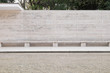 Barcelona German Pavilion Wall with Benches