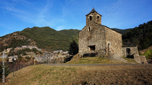 Photo Romanesque church of St. Cristopher, Andorra