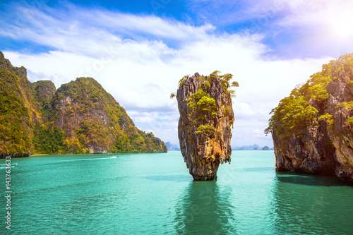 Phuket Thailand island Canvas Print