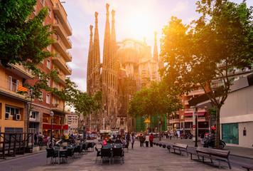 Ugodna ulica u Barceloni, Španjolska