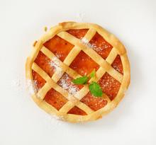 Lattice Topped Fruit Tart (cro...