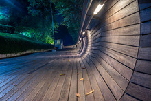 Pedestrian Bridge Of The Henderson Waves On Mount Faber In Singapore - 1