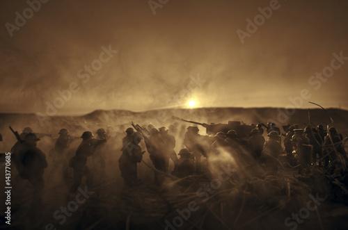 Fotografía  Concepto De La Guerra