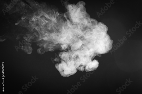 Garden Poster Smoke Smoke on a dark background
