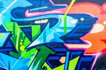 Lines and Colors Graffiti