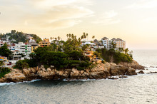 View Of Acapulco In Evening, M...