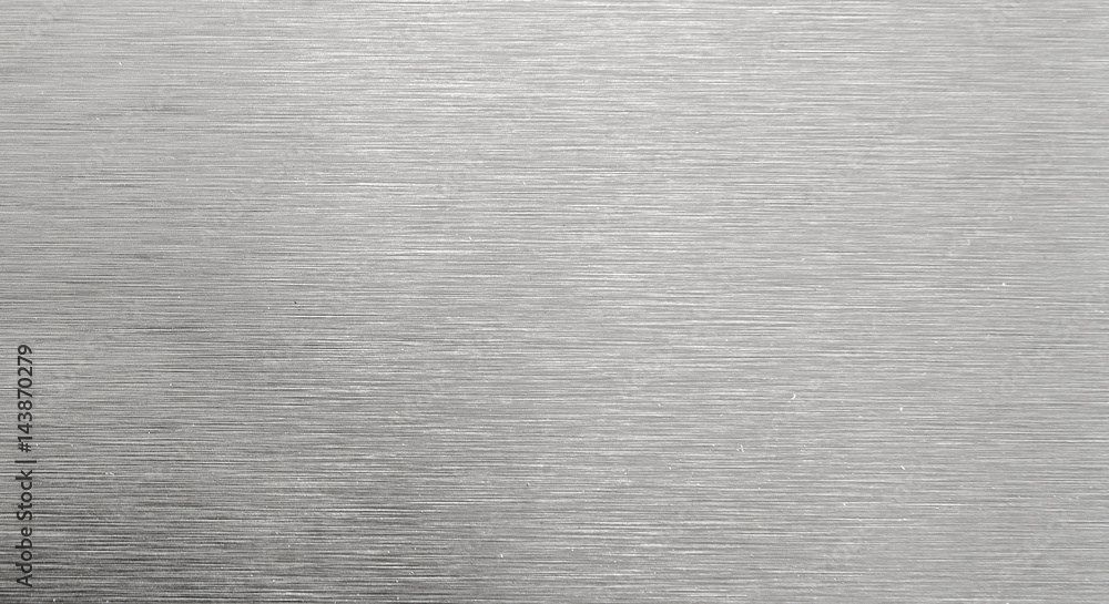Fototapeta Shiny steel texture