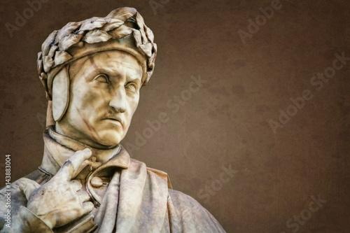 Zdjęcie XXL Florenz, Dante Alighieri