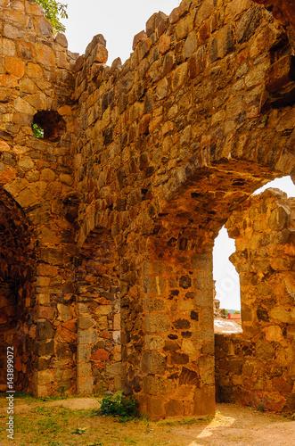 Photo  Saint Olofs church ruins, Sigtuna, Sweden