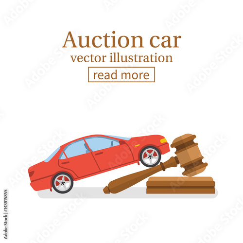 Fotografía Auction car