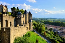 Ancient Castle Of Carcassonne ...