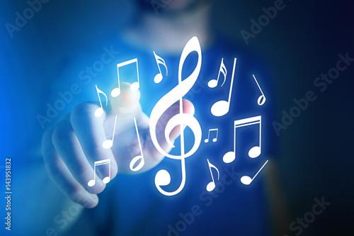 technologiczne-ukazanie-muzyki-za-pomoca-laserowych-nut