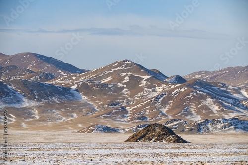 The picturesque landscape of Mongolia, Russia, Altai #143956478