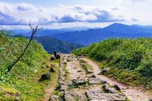 Jilong Mountain In Jiufen