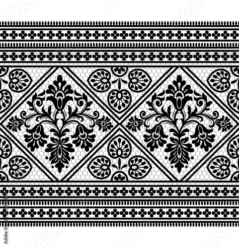 czarno-bialy-kwiatowy-ozdobny-wzor