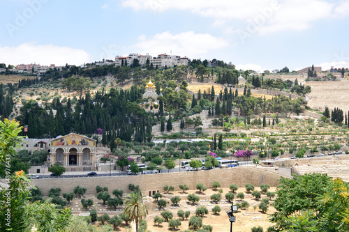 Fotomural Mount of Olives in Jerusalem