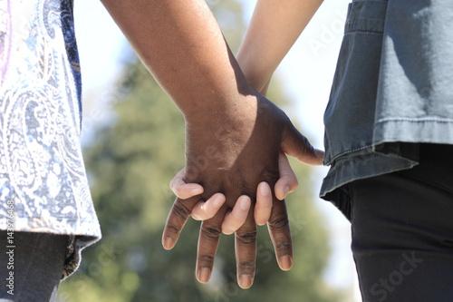 Fotografia  Une amitié à deux cœurs