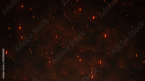 Photographie Firestorm texture