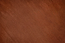 Old Dark Brown Varnished Wood Close Up