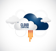 Cloud Computing Links And Networks Concept