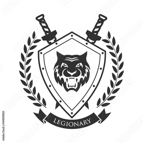Military Symbol Legionary S Badge Buy This Stock Vector And