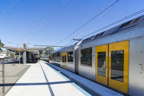 Foto op Aluminium Treinstation Sydney subway station