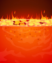 Burn Flame Fire Vector Backgro...