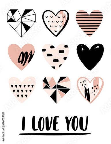 walentynki-kartke-z-zyczeniami-z-roznych-serc-i-napis-milosny-quot-kocham