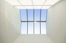Blue Sky And Skylight Window