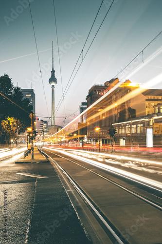 Zdjęcie XXL Wieczór Blask wokół Prenzlauer Berg - Berlin