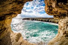 Sea Caves Near Ayia Napa. Fama...