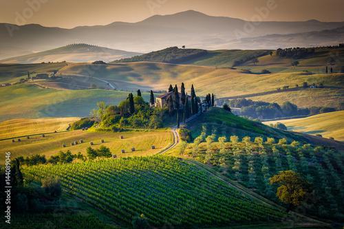 Fototapety, obrazy: Tuscany, spring  landscape
