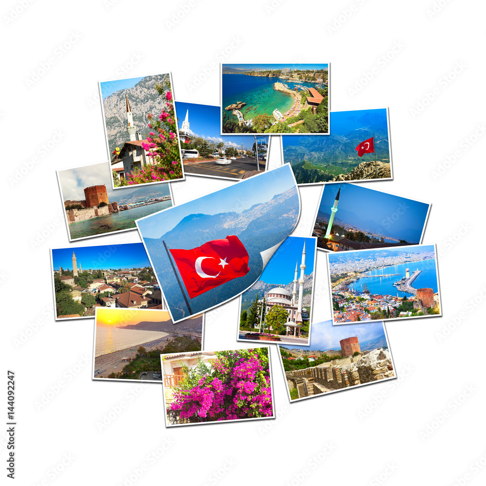 Stampe  Collection of travel pictures from Turkey