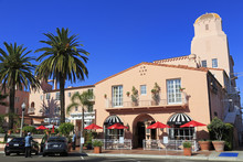 La Valencia Hotel, La Jolla, San Diego, California