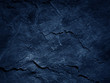 canvas print picture  Dark blue black slate background
