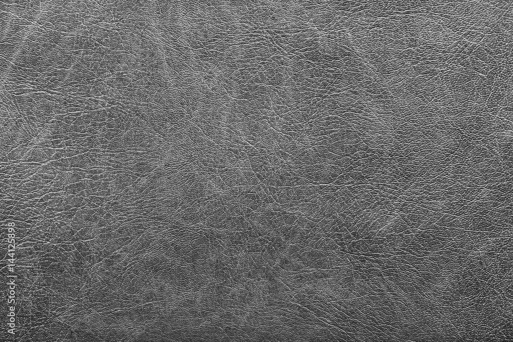 Fototapeta background of grey vintage leather grunge