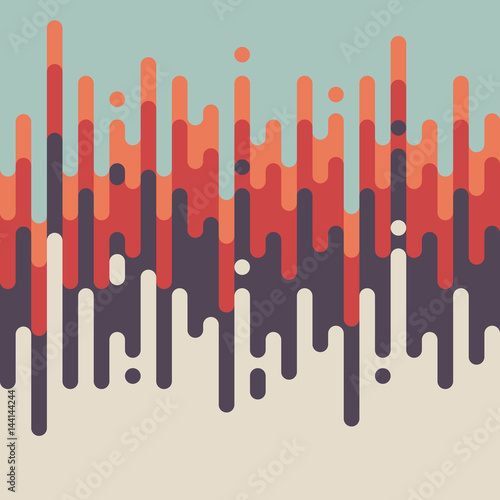 Photo Abstract retro vintage line pattern background