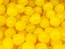 Lemon Candies Texture Background.