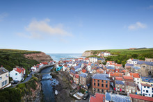 Staithes, North Yorkshire, Eng...