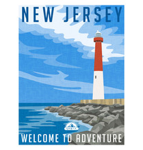 New Jersey Travel Poster Or St...