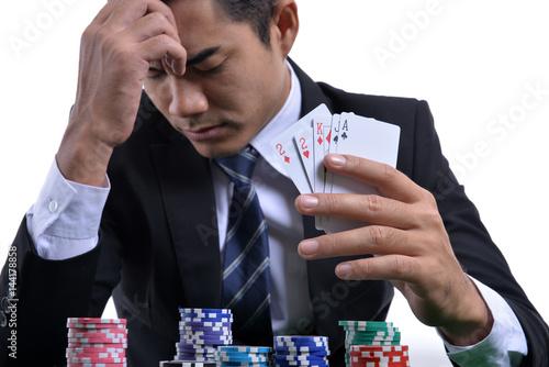 фотография  Gambling concept