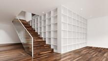 Stauraum Idee Neben Treppe In Wohnung