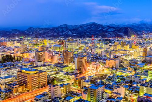 Foto  Yamagata, Japan Skyline