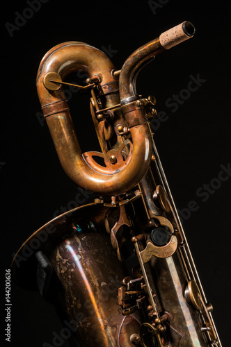 vintage, music, instrument, musical, saxophone, sax, jazz, classical, background Wallpaper Mural
